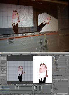 Smile. Animación 2D en Blander.  http://machangostudio.posterous.com/imaginacion-y-programas-gratuitos