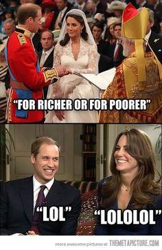 For richer or for poorer…