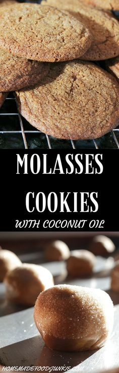 Molasses Cookies | Recipe | Molasses Cookies, Cookies and Cooking