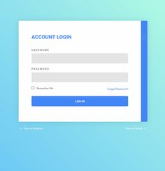 Material Login Form Coding Animation Buttons Code CSS CSS3 Flat ...