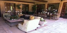 Outdoor Living with Dining Room Design