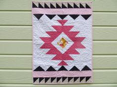 Hey, I found this really awesome Etsy listing at https://www.etsy.com/listing/187980386/aztec-baby-quilt