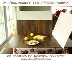 DIY Photography Background from Running To The Kitchen