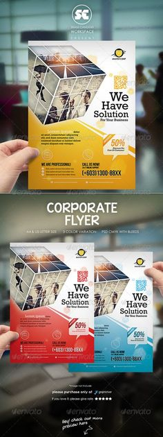 Clean Corporate Flyer / Magazine Ads