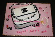 #Torta borsa Chanel #Chanel cake #Fashion cake #
