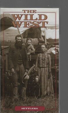 The Wild West Settlers Time Life VHS