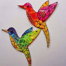 Resultado de imagen para mosaiquismo diseños arbol Mosaic Animals, Mosaic Birds, Mosaic Wall, Mosaic Glass, Glass Art, Mosaic Crafts, Mosaic Projects, Mosaic Ideas, Mosaic Designs