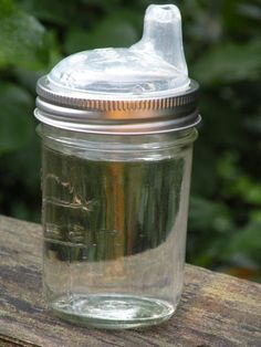 Mason Jar Sippy Cup DIY