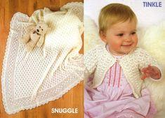 Patons Baby World Knitting Patterns - Free Baby Knitting Baby Knitting Free, Easy Knitting, Baby Knitting Patterns, Baby Patterns, Knit Baby Dress, Knitting Stiches, Knitted Animals, Knitted Baby Blankets, Free Baby Stuff