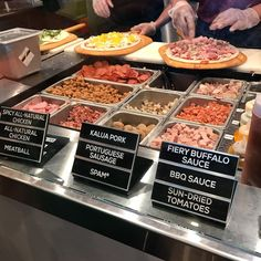 Pizza toppings from Pieology @pieology #pizza #toppings #imenehunes #food
