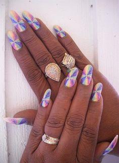 Rainbow colors - Nail Art Gallery nailartgallery.nailsmag.com by nailsmag.com