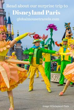 Read about our surprise trip to #disneylandparis http://goo.gl/TRm1oD #disney