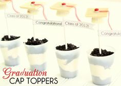 Graduation Cap Toppers and Flags