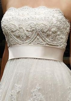 Wedding dress front view