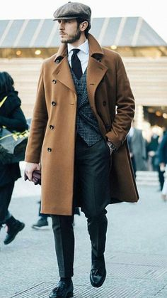 48 Amazing Winter Suits for Gentleman Style, , Mens Fashion Style, Mens Fashion Blog, Mens Fashion Suits, Mens Suits, Fashion Styles, Suit Men, Fashion Ideas, Fashion Hats, Fashion Inspiration, Fashion Quotes