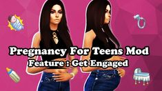 Pregnancy For Teens + Get Engaged Mod Gravidez para Adolescentes + Engaje-se Mod – The Sims 4 Catalog Sims 3, Los Sims 4 Mods, Sims 4 Body Mods, Sims 4 Game Mods, Sims 4 Mm Cc, Sims 4 Pets Mod, Sims Pregnant, Die Sims 4 Packs, Sims 4 Traits
