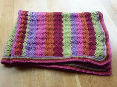Ravelry: Project Gallery for Stashaholic's Brain Dead Afghan pattern by Sherri Bondy