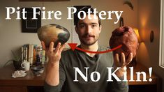 Pit Fire Pottery In Your Backyard | NO Kiln! Pottery Kiln, Ceramic Pottery, Pottery Art, Pottery Ideas, Fire Pit Kiln, Diy Fire Pit, Pottery Lessons, Pottery Classes, Clay People