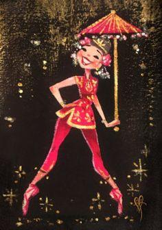 Halloween Pin Up, Chinese Dance, Digital Art Girl, Gouache Painting, Cartoon Art, Fine Art Paper, Cute Art, Vintage Art, Digital Prints
