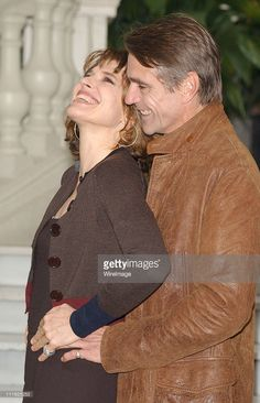 Fanny Ardant Jeremy Irons during 'Callas Forever' Photocall in Madrid... News Photo | Getty Images
