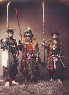 The Samurai of Feudal Japan