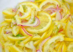 Recette de sauce citron ou rougail citron
