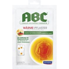 HANSAPLAST med ABC Wärme Pflaster Capsicum:   Packungsinhalt: 2 St Pflaster PZN: 02295643 Hersteller: Beiersdorf AG Preis: 6,59 EUR inkl.…