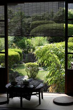 architecture japonaise avec grande fenetre
