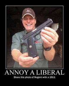 Ted Nugent- I love this guy! :) Find our speedloader now!  http://www.amazon.com/shops/raeind