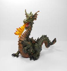 Papo - Dragon Toy Figure - Medieval - Knights - Papo 1999 - E.L.C. Fantasy