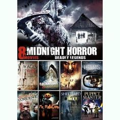 Midnight Horror Collection, Vol. 13: Mr. Halloween / Sheltered / Hell's Highway / Wages Of Sin / Curse Of The Wolf / A Bothered Conscience / Backwoods Bloodbath / Puppet Master III