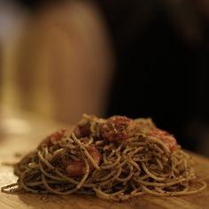 Tiger Shrimp Spaghetti in aglio olio sauce