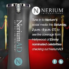"#Nerium on the red carpet again!  Part of the release:  ""Guests will be introduced to exciting new products from Nerium International LLC, Regeneca World Wide, Real Chemistry, HoverCam, Majestic Home, Dallas Prince, IPC Sports Corp, Akonye Kena, Rejuve Cigs LLC, Louisa Voisine Millinery, Rich Vitamins LLC, CA Botana International...Jewels will be available for loan out for the red carpet. Spa services will also be onsite""  Click the link to order Nerium #skincare…"