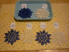Snowflake patterning
