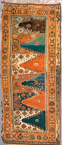 Kilim, Vakiflar Carpet Museum, Istanbul, 18th Century, Gumushane