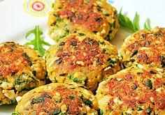 Kotleciki jajeczne z rukolą Salmon Burgers, Ethnic Recipes, Fit, Shape