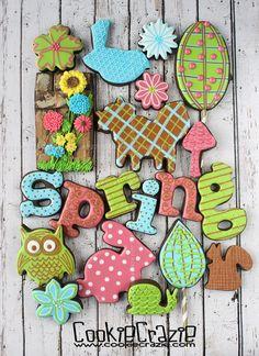 CookieCrazie: Spring 2016 Decorated Cookie Collection