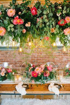 coral peony wedding