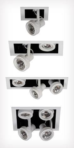 Luminaria empotrable y spot Atego de Idea Iluminación, distinguida con el Sello de Buen Diseño 2012.