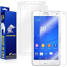 ArmorSuit MilitaryShield Sony Xperia Compact Screen Protector Full Body Skin Anti-Bubble HD Shield w/ Lifetime Replacements ** You can find more details by visiting the image link. (This is an affiliate link) Sony Xperia Z3, Screen Protector, Full Body, Cell Phone Accessories, Bubbles, Image Link, Film, Compact, Check