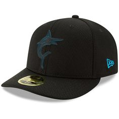 Miami Marlins New Era 2019 Clubhouse Collection Low Profile 59FIFTY Fitted  Hat – Black b28bd0217
