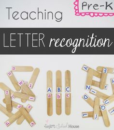 Teaching Pre-K Letter Recognition