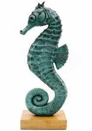 ceramic seahorse sculpture ile ilgili görsel sonucu