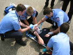 paramedics | ... to the building of confident competent firefighters and paramedics