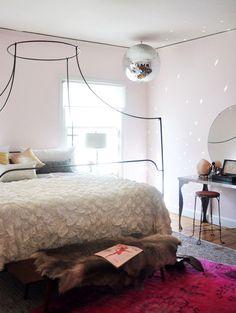 maggie's disco bedroom