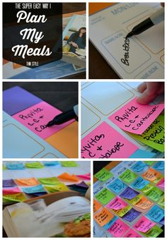 Do you need help planning your meals and staying on plan? I have a super simple idea for you to try!