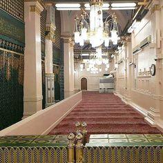Islamic Images, Islamic Pictures, Islamic Art, Beautiful Mosques, Islamic Wallpaper, Madina, Prophet Muhammad, Saudi Arabia, My Happy Place