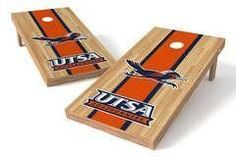 UTSA Roadrunners Single Cornhole Board - Court