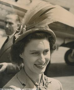 princess margaret | Princess Margaret in plumed hat | Flickr - Photo Sharing!