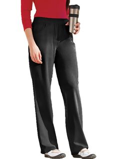 Style Code: (JO-2211T)  This scrub pants feature rib knit waistband for super comfort and easy pull-on, slightly flared leg design that is always in style and two curved front pockets that offer ample storage Side venting for effortless movement.